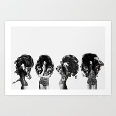 Lions And Bears Party Art Print by Jenny Liz Rome - $18.00