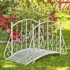 Outdoor Garden Bench, Outdoor Gardens, Formal Gardens, Garden Gates, Garden Bridge, Garden Projects, Garden Tools, Diy Projects, Garden Sitting Areas