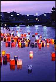 Asian lanterns are a must!
