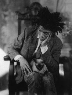 -Jean-Michel Basquiat- *Artiste Peintre Américain... Périodes: Graffitis- Art Contemporain- Néo-Expressionnisme- Primitivisme'