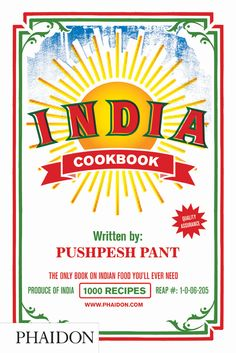 India Cookbook | Food & Cookery | Phaidon Store
