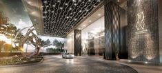 「hotel lobby ceiling sculpture」的圖片搜尋結果