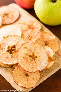 Hi Everyone! Jenn back from Deliciously Sprinkled! Can you believe it, summer is almost over!? Summer seems to just fly by and with fall just around the corner,these crispy Baked Apple Chips make ...