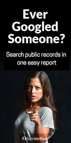 Help protect your family and use BeenVerified to search for people's background records.