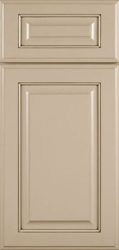 Brookside Cabinet Door Style - Elegant Cabinetry With Raised Center Panel - Dynasty