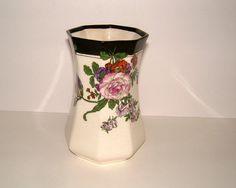 Edwardian Vase Royal Doulton Vase D3887 Vintage by BiminiCricket, $55.00