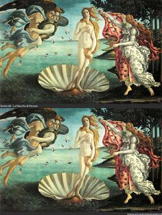 The Venus Project: Italian artist Anna Utopia Giordano gives the goddess of love a Photoshop makeover. She takes famous paintings of Venus and slims bellies (and increases busts) to fit today's standards of beauty.