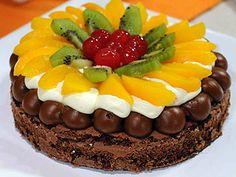 SÚPER EXPRESS - Torta frutal de chocolate - Sol Cortés