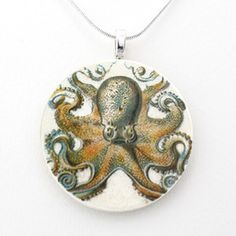 Octopus Necklace, $22, now featured on Fab.
