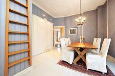 Bolig til salgs Dining Area, Conference Room, Divider, Real Estate, Table, Furniture, Design, Home Decor, Decoration Home