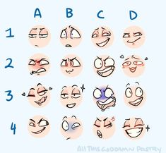 Drawing Tips the toppest of keks - Drawing Face Expressions, Anime Faces Expressions, Drawing Faces, Drawing Meme, Drawing Prompt, Drawing Reference Poses, Drawing Tips, Drawing Stuff, Sketch Drawing