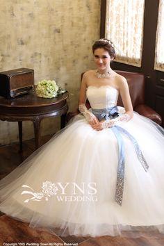 SR13939|ウェディングドレス LaVenie Collection|ウェディングドレスのYNS WEDDING