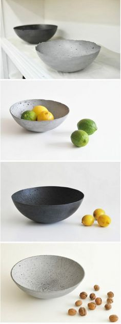 Concrete fruit bowl (How To Build A Shed On Concrete) #howtobuildashed