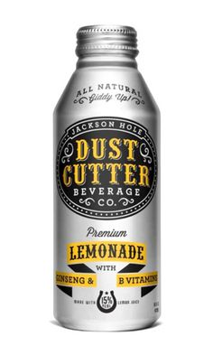 Dust cutter lemonade: The brand is clear in the centre of the bottle. I like the typography and the yellow banner at the bottom of the bottle. All the colours on the bottle match. Cool Packaging, Beverage Packaging, Bottle Packaging, Brand Packaging, Packaging Ideas, Design Visual, Tool Design, Packaging Design Inspiration, Graphic Design Inspiration