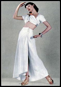 Martin Munkacsi Shoot for Harper's Bazaar - 1940