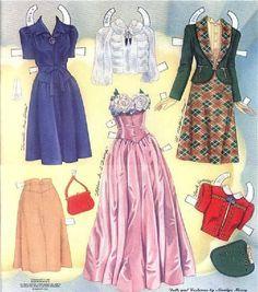 Vivien Leigh paper doll #8