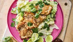 Chicken Cutlets with Spicy Coconut Dressing | The Splendid Table