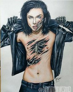 That's awesome I wish I could draw like that