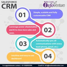 Here's What Makes Salesforce the world's CRM. Simple, scabale and fully customisable CRM. Leaverage power of automation and AI to close more. Salesforce Crm, Email Id, Intuition, Sage, Marketing, Phone, Business, Simple, Telephone
