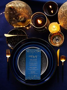 Celestial Tablescapes Look to the night sky for reception décor inspiration. Twinkling lights and starry details can create an ultra romantic reception vibe. Starry Night Wedding, Moon Wedding, Celestial Wedding, Starry Night Sky, Star Wedding, Wedding Table, Trendy Wedding, Midnight Wedding, Dream Wedding