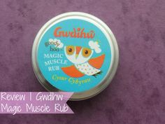 NEW POST! Review | Gwdihw Magic Muscle Rub http://www.raspberrykiss.co.uk/2013/12/review-gwdihw-magic-muscle-rub.html #bbloggers #beauty #beautybloggers #beautyblog #beautychat #beautychat #skincare #skin #gwdihw #balm #muscle #rub #musclerub #review #raspberrykiss