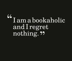 book addict. « Non, rien de rien... »