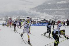 Men Junior Skiathlon 10 km C + 10 km F #Fiemme2014 #NordicSki #Skiathlon #SkiRelay #Sci #SkiJumping #NordicCombined #XCSkiing #SciNordico #SaltoSci #CombinataNordica #ValdiFiemme #Trentino #Sport #SportInvernali #WinterSports