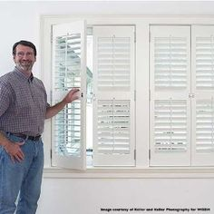 dvd on how to make your own custom plantation shutters!