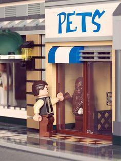 Funny Star Wars Lego Star Wars, Han Solo, Chewbacca