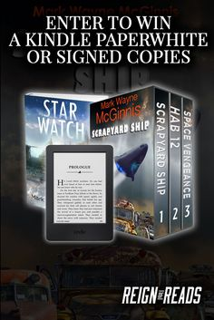 Win a Kindle Paperwhite or Signed Copies from Author Mark Wayne McGinnis