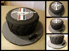 Mustang Cake, Shelby's Grooms cake