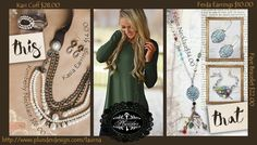 This or That?? Cute outfit! Cute jewelry! Plunder has something for every look!