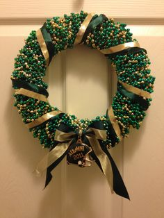 USF Bead Wreath