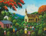 Beautiful Original Art for sale at the Haitian Art Gallery in Key West, Florida
