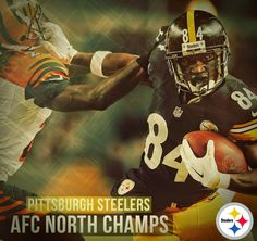 the pittsburgh steelers are the afc north division champions after beating the bengals 27-17 at heinz field on december 28, 2014, from the unlikely orange