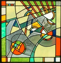Modern Design Stained Glass