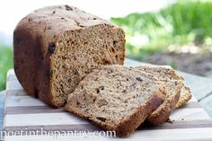 Good Morning Cinnamon-Raisin Bread!