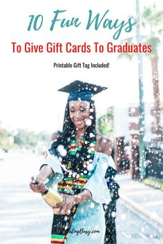 Got a Grad? Here are the Best Graduation Gifts of A detailed list full of items they will actu High School Graduation Gifts, Graduation Diy, Grad Gifts, Graduate School, College Necessities, Big Party, Grad Parties, Shopping Hacks, Preschool Crafts