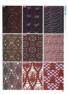View album on Yandex. Crochet Stitches, Knit Crochet, Lily, Knitting, Blog, Yandex Disk, Album, Crochet Edgings, Leave In Conditioner