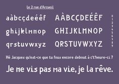 Typographies - Formes Vives, latelier