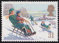 Royal Mail Christmas 1990
