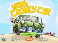 FREE for a limited time! Mum's Cronky Car - an interactive book written by Anita Pouroulis, illustrated by Jon Lycett-Smith.