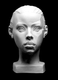 Female Planes Head Artist's Reference Cast by clarissa