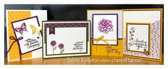 Spring is in the air! Stampin' Up Nature's Perfection & Lovely Amazing You Sale-A-Bration Card Class ~ watercolor with water based SU markers