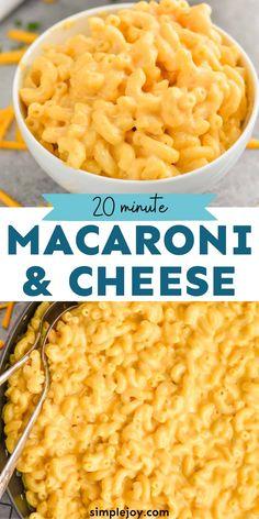 Macaroni Cheese Recipes, Cheesy Recipes, Pasta Recipes, Cooking Recipes, Pasta Meals, Creamy Corn Casserole, Cube Steak Recipes, Great Recipes, Favorite Recipes