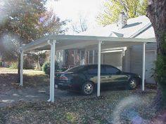 double carport attached to house 20x20 modernhomepatio.com ... on