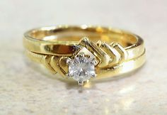 14k Yellow Gold 0.25ct Solitaire Ring
