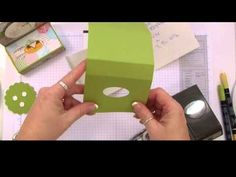 How to Make a Tissue Holder Video Tutorial