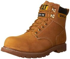 Shop a great selection of Caterpillar Men's Second Shift Steel Toe Work Boot. Find new offer and Similar products for Caterpillar Men's Second Shift Steel Toe Work Boot. Steel Toe Shoes, Steel Toe Work Boots, Best Work Shoes, Best Boots For Men, Cool Boots, Men's Boots, Workout Shoes, Waterproof Boots, Timberland Boots