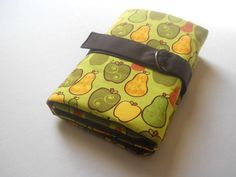 xl interchangeable knitting needle case-fruits via Etsy.